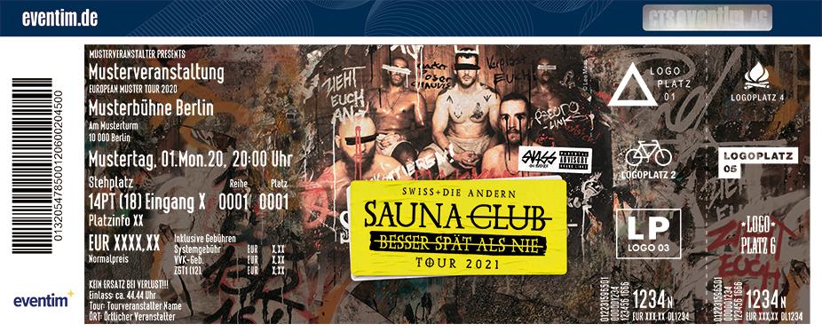 Swiss & Die Andern - Saunaclub Tour 2021