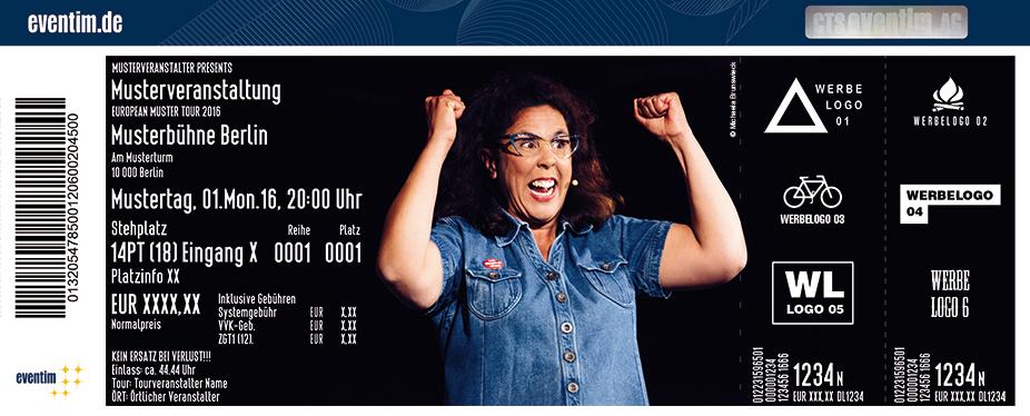 Karten für Sybille Bullatschek: Volle Pflegekraft voraus! in Münster
