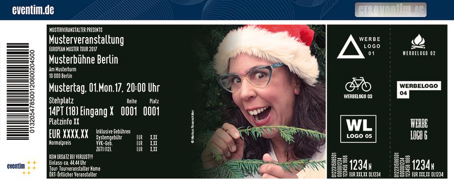 Karten für Sybille Bullatschek: Ihr Pflägerlein kommet! in Dresden
