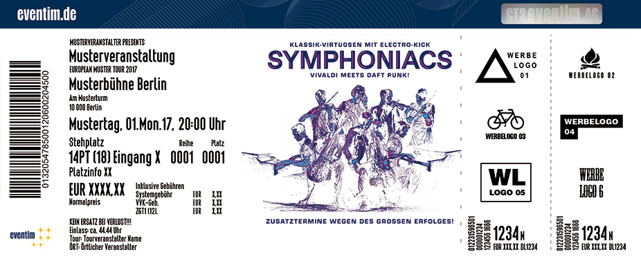 Karten für Symphoniacs in Essen