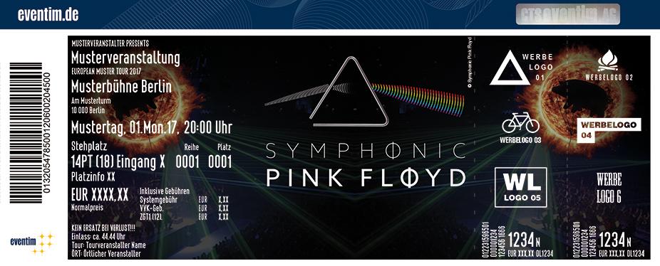 Symphonic Pink Floyd Karten für ihre Events 2018