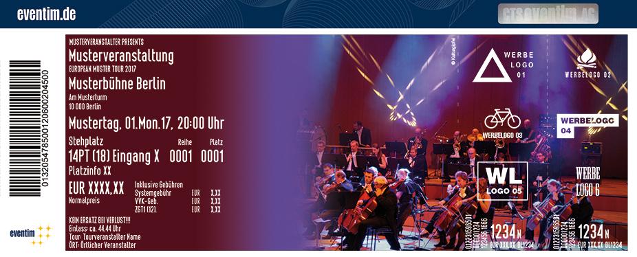Karten für Symphonic Rock in Concert - Neue Philharmonie Frankfurt in Leipzig