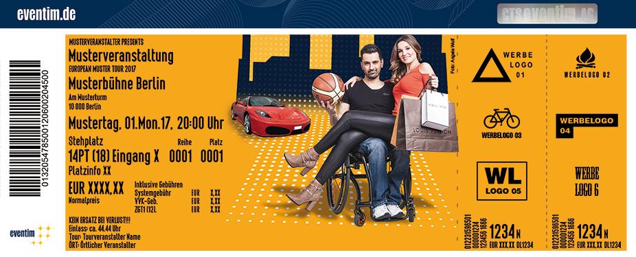 Karten für Tan Caglar: Rollt bei mir...! in Hildesheim