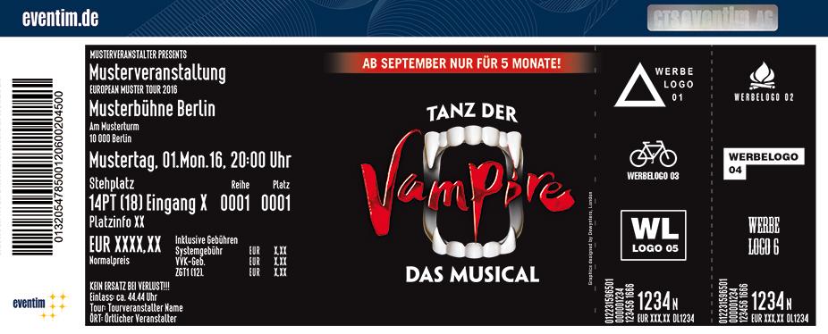 Karten für Tanz der Vampire - Hamburg in Hamburg