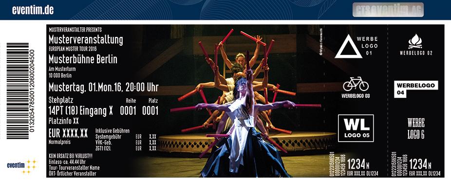Tao - Die Kunst Des Trommelns Karten für ihre Events 2017
