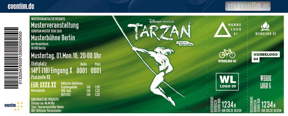 Karten für Disneys Musical TARZAN in Oberhausen in Oberhausen