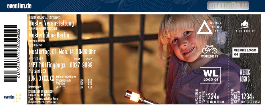 Funzelführung: Kinderführung Karten für ihre Events 2017