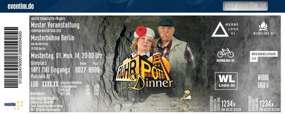 Karten für Ruhrpott-Dinner in Unna