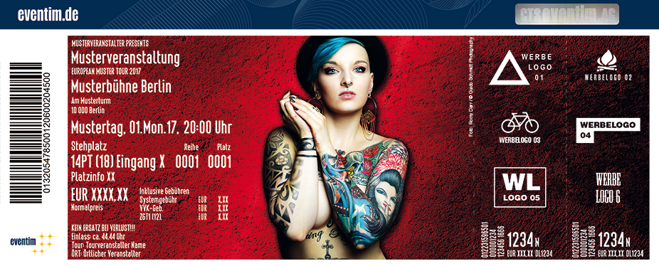 Tattoo Convention Erfurt Karten für ihre Events 2018