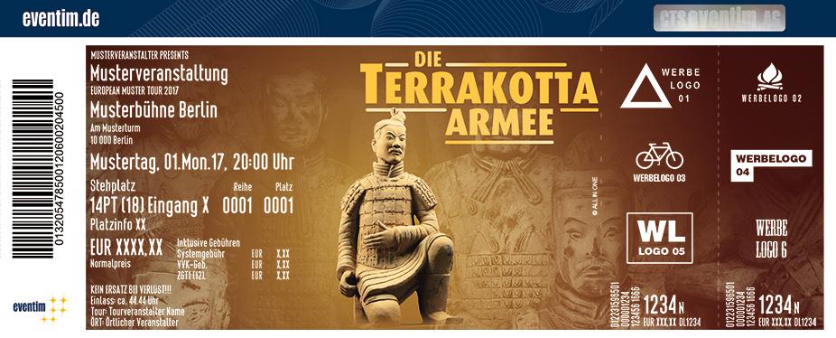 Die Terrakotta Armee - Ausstellung Karten für ihre Events 2017
