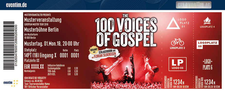 The 100 Voices of Gospel - Live 2019/2020