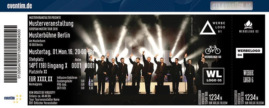 Karten für The 12 Tenors: Jubiläums-Tournee in Leipzig