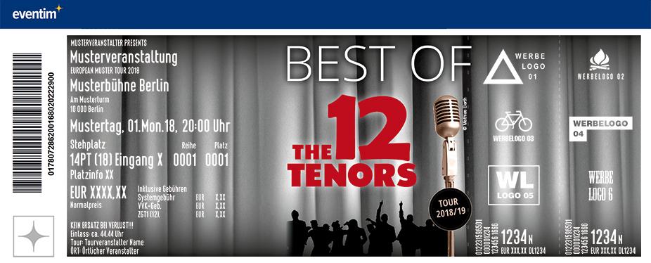 Karten für The 12 Tenors: Best of Tour in Euskirchen