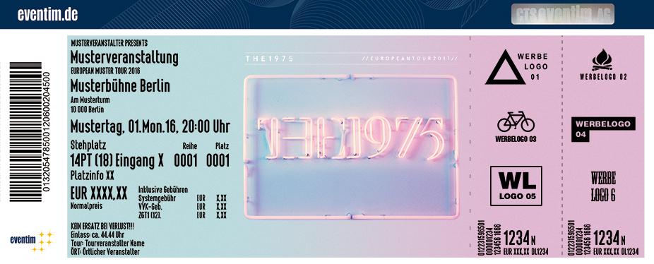 The 1975 Karten für ihre Events 2017