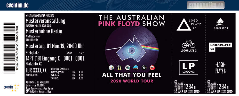The Australian Pink Floyd Show - All That You Feel - 2020