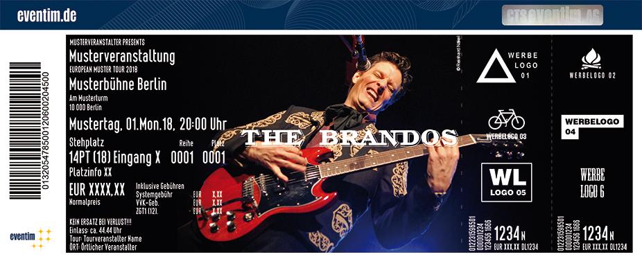 The Brandos Karten für ihre Events 2018
