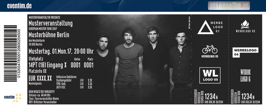 Karten für The Coronas in München