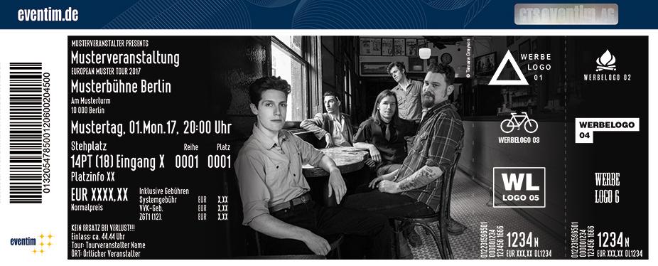 Karten für The Deslondes: Hurry Home Tour 2017 in Berlin