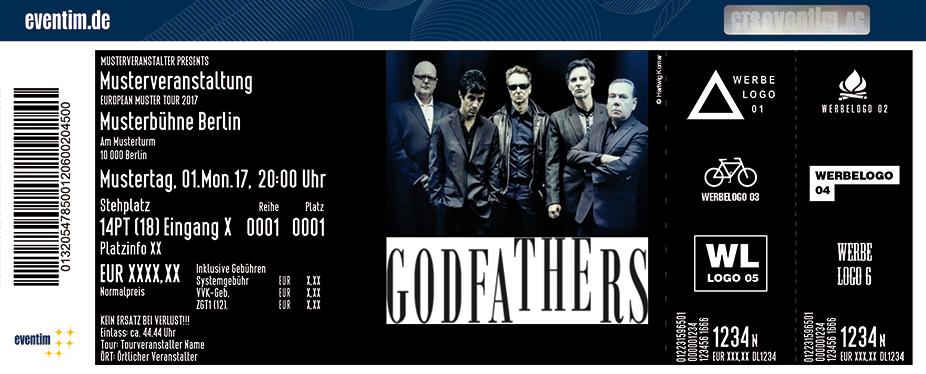 Karten für The Godfathers: A Big Bad Beautiful Noise Tour in Stuttgart