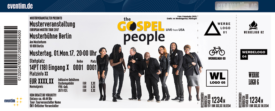 Karten für The Gospel People in Alsdorf