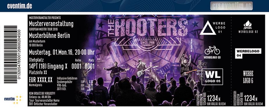 The Hooters Karten für ihre Events 2017