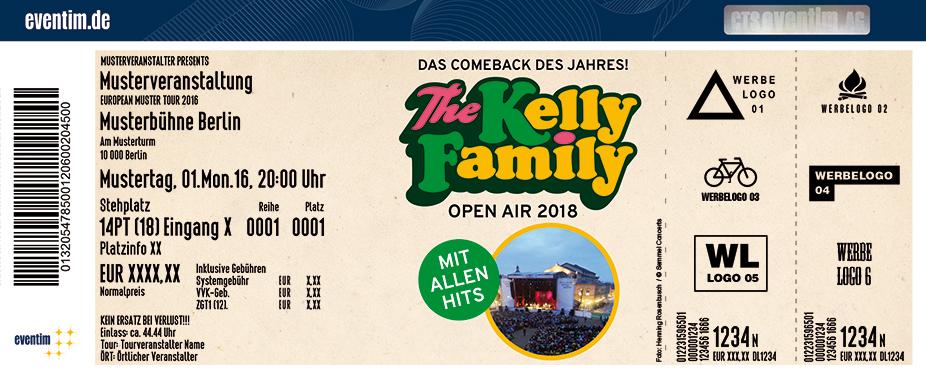 Karten für The Kelly Family: Das Comeback des Jahres - We Got Love - Die Tour 2018 in Coburg