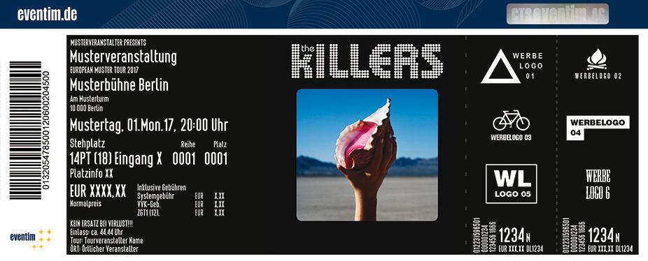Karten für The Killers in Berlin
