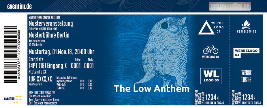 The Low Anthem Karten für ihre Events 2018