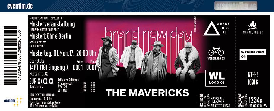 The Mavericks Karten für ihre Events 2017