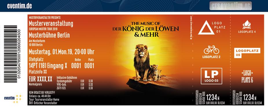 The Music Of Der Konig Der Lowen In Stuttgart Am 01 01 2022 Passau Ticket De