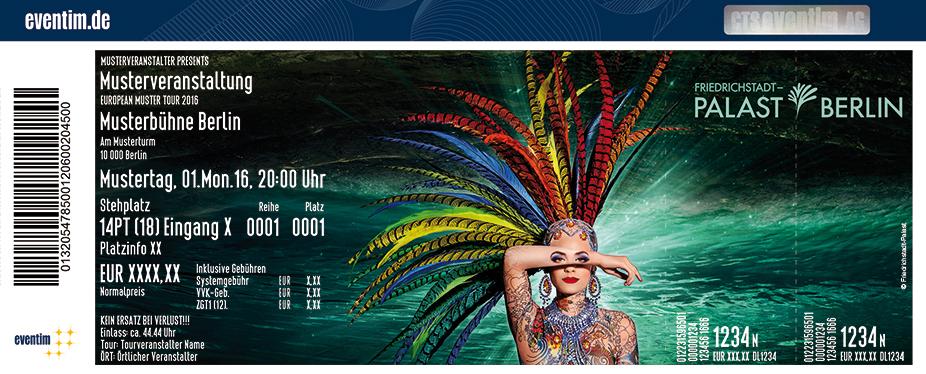 Friedrichstadt-Palast Berlin Karten für ihre Events 2018