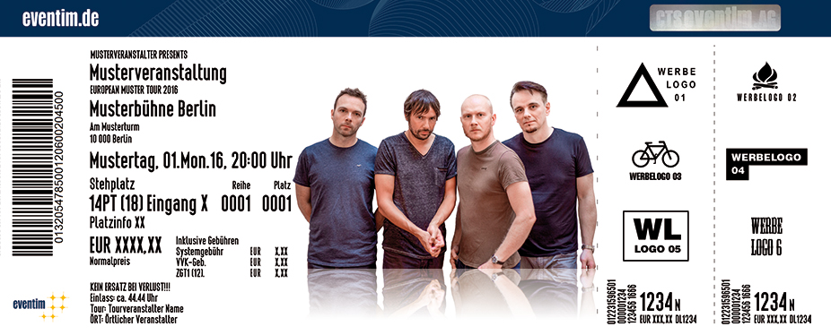 The Pineapple Thief Karten für ihre Events 2017