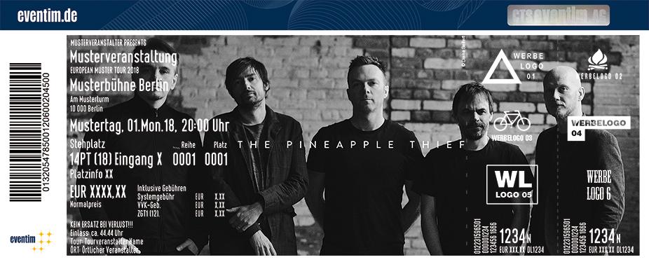 The Pineapple Thief Karten für ihre Events 2018