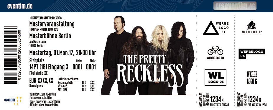 Karten für The Pretty Reckless in Frankfurt