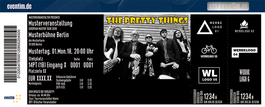Karten für The Pretty Things - Farewell Tour in Bremen