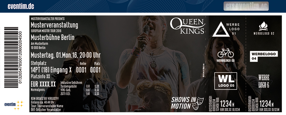 Karten für The Queen Kings - Live 2018 in Gelsenkirchen