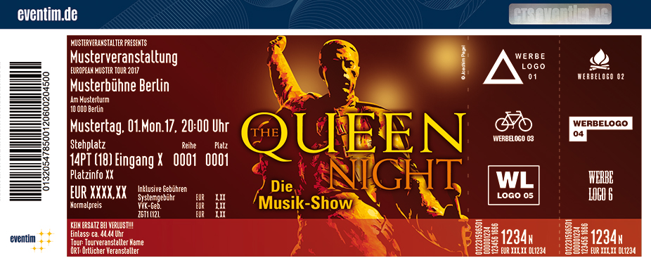 Karten für The Queen Night in Hanau