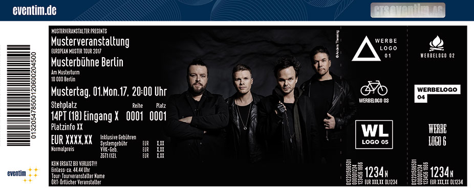 Karten für The Rasmus in Hamburg