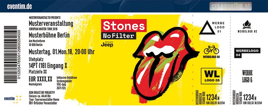 tickets f 252 r the rolling stones in berlin am 22 06 18