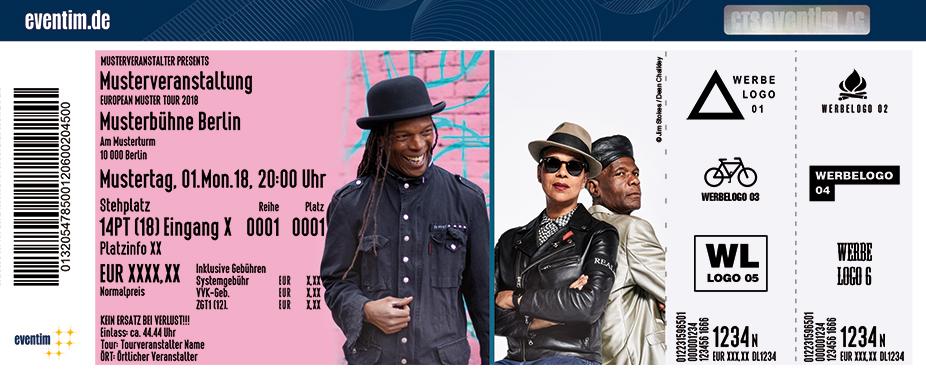 The Selecter Karten für ihre Events 2018