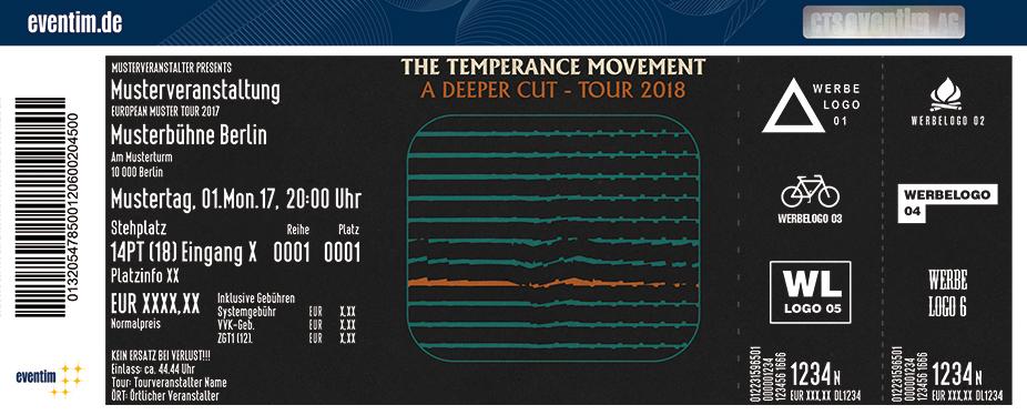 The Temperance Movement Karten für ihre Events 2018
