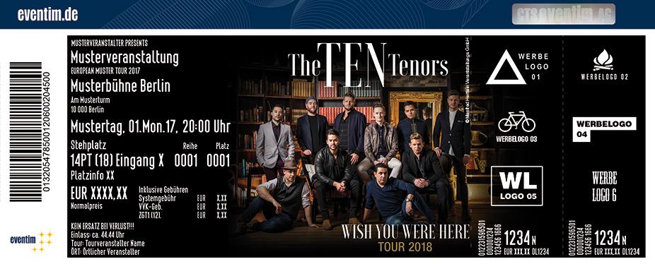 The Ten Tenors Karten für ihre Events 2018
