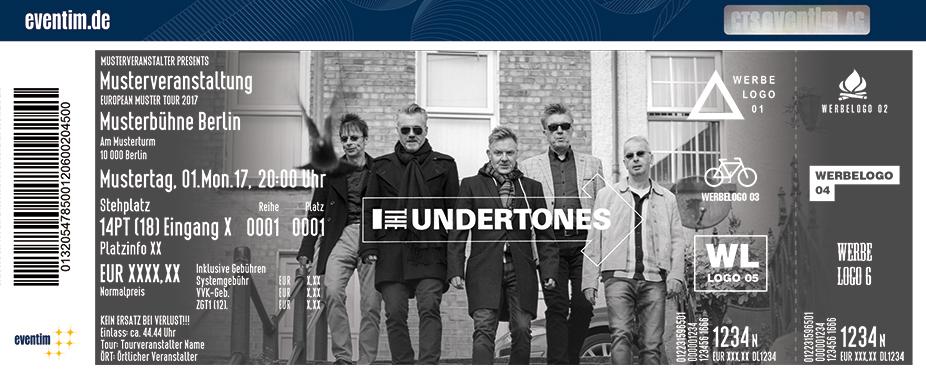 The Undertones Karten für ihre Events 2018