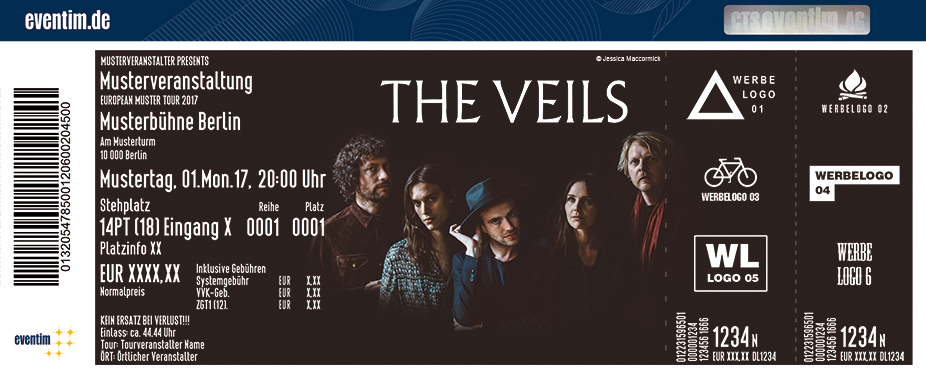 Karten für The Veils in Hamburg