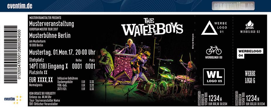The Waterboys Karten für ihre Events 2017