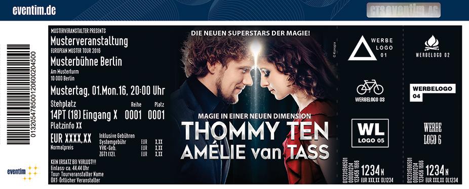 Karten für Thommy Ten & Amélie van Tass: Einfach Zauberhaft in Gera