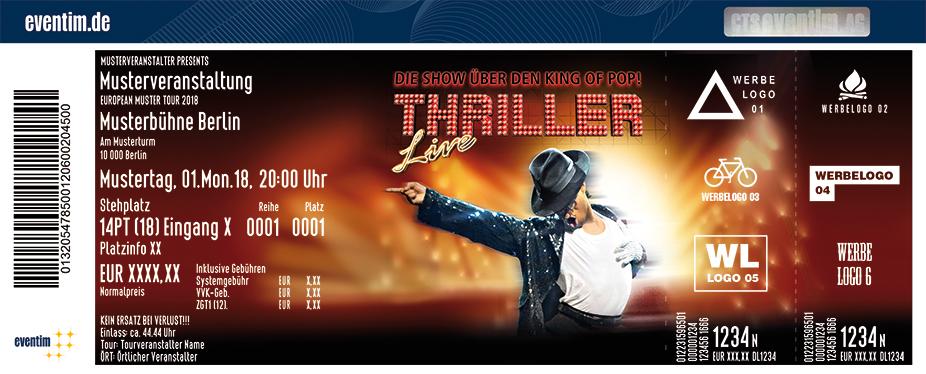 Karten für Thriller - Live in Essen