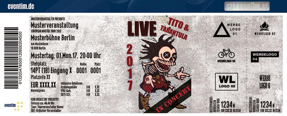 Karten für Tito & Tarantula in Aschaffenburg