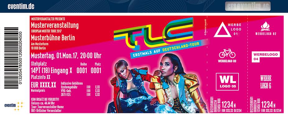 Karten für TLC in Frankfurt