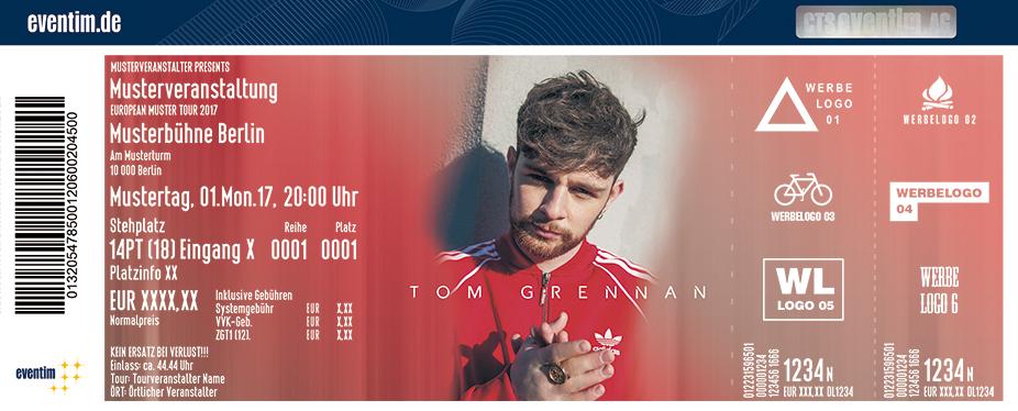 Karten für Tom Grennan in Berlin